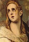 El Greco The Penitent Magdalene [detail] painting